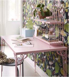 Adorable new pink FALKHÖJDEN desk from Ikea - April 2015
