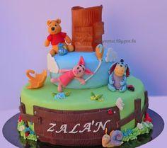 Winnie the pooh cake, Micimackó torta