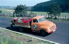 Opel Blitz Race Transporter