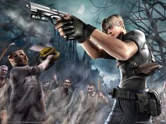 Resident Evil 4 (GameCube). The first RE game I ever played, and the one that got me started on the series. More action based than its predecessors, it's still my favorite of the series.