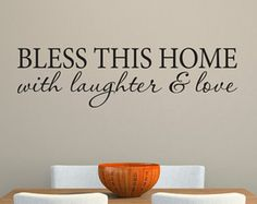 Happiness is Homemade Wall Decal is a perfect addition to your kitchen! Its available in the color of your choice. See the color chart for your options. The photographs are for a reference be sure to use the measurements when ordering.   • • • Thank you for choosing Stephen Edward Graphics! • • •   - - - Want more decals? - - - You can find our complete collection of decals in our shop here: http://www.stephenedwardgraphic.etsy.com   © All images and designs are copyrighted or licen...