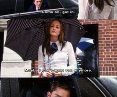 Find images and videos about quote, couple and gossip girl on We Heart It - the app to get lost in what you love. Gossip Girl Chuck, Gossip Girl Blair, Ed Westwick, Leighton Meester, Tv Show Quotes, Movie Quotes, Gossip Girl Memes, Blair And Serena, Jenny Humphrey