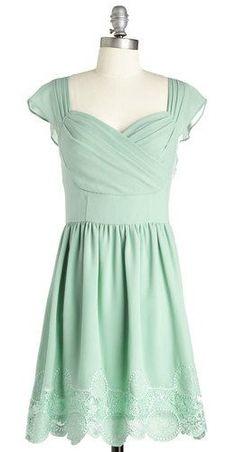 pretty teal dress