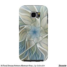 A Floral Dream Pattern Abstract Fractal Art Samsung Galaxy S6 Case