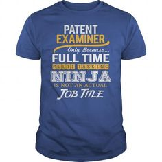 Awesome Tee For Patent Examiner T Shirts, Hoodie. Shopping Online Now ==► https://www.sunfrog.com/LifeStyle/Awesome-Tee-For-Patent-Examiner-123037035-Royal-Blue-Guys.html?41382
