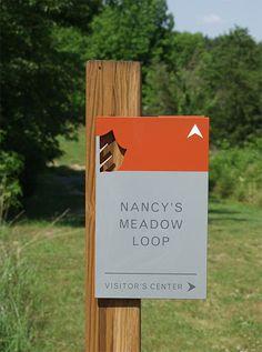 Adkins Arboretum \ Ashton Design \ environmental graphics