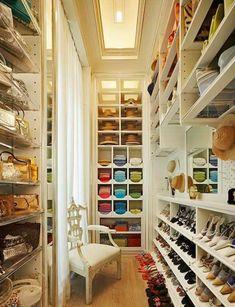 Fabulous schuhe stuhl klassisch regale begehbarer kleiderschrank