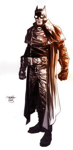 commission - The Bat by marciotakara