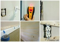 How to install pegboard