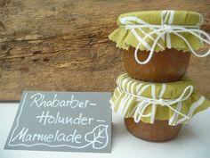 Rhabarber-Holunder-Rezept