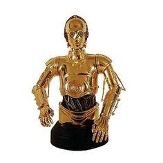 STAR WARS : C-3PO  Busto de resina appr 16cm de una serie limitada de 8000 unidades.  Fabricado por Gentle Giant. Figuras Star Wars, Gentle Giant, Samurai, Stars, Tv Series, United States, Resin, Videogames, Movies