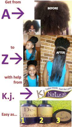 Waist-Length Hair Care Maintenance: 4 Basic Steps   Kj Naturals