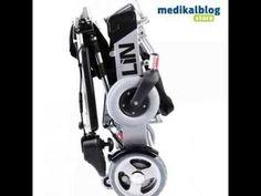 Ultra Hafif Akülü Tekerlekli Sandalye Poylin