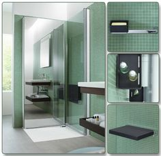 Duravit OpenSpace B shower partition - enlarging your bathroom!
