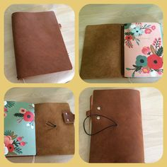 My new Creme Brûlée notebook by Jennifer Harvey of Chic Sparrow on Etsy