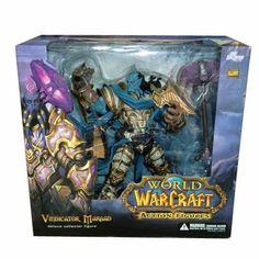 Draenei Paladin-Deluxe Action Figure New World of Warcraft Vindicator Marrad