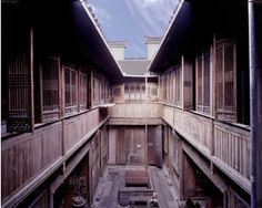 Yin Yu Tang House, transported from original site in China to the Peabody Essex Museum in Salem, Massachusetts, USA