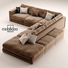 диван mobilidea THOMAS Design Samuele Mazza
