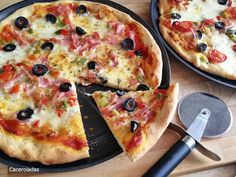History Of Pizza, Pasta Facil, Calzone, Vegetable Pizza, Cheese, Quiches, Vegetables, Crochet, Tasty Food Recipes