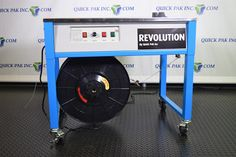Quick Packaging News: REVOLUTION TT TABLE TOP STRAPPING MACHINE