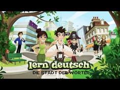 Lern Deutsch – Die Stadt der Wörter / Learn German – The City of Words