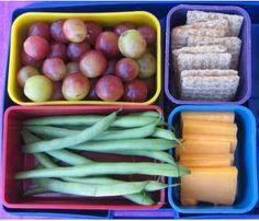 Hikers Bento! Going on a day #hike? Pack a bento for a healthy mid-hike snack!