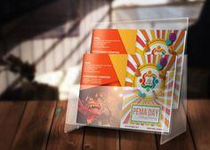 Graphics Designs:  Pema Day Brochure