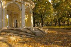 Parc du Palais Michel - Saint Petersbourg.