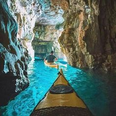 Island hopping in Croatia #travel #canoe #croatia