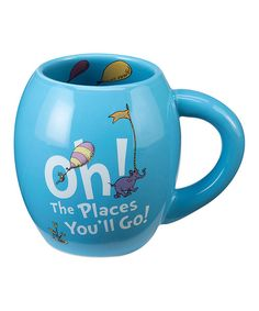 Look at this Dr. Seuss 'Oh The Places You'll Go!' Oval Ceramic Mug on #zulily today!