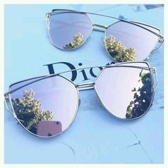 Dior Eyeglasses for sale Cute Sunglasses, Trending Sunglasses, Sunglasses Women, Sunnies, Ray Ban Sunglasses Sale, Summer Sunglasses, Black Sunglasses, Rose Gold Mirrored Sunglasses, Dior Eyeglasses