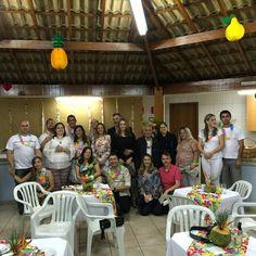 Jantar de casais, com amigos muito especiais da igreja.