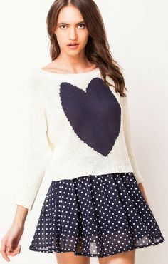 Trending heart and love woven cute tops best for college via Valentine Day Special, Batwing Sleeve, Bat Wings, Cute Tops, Bell Sleeve Top, College, Heart, Sleeves, Stuff To Buy