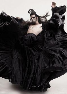 Maximiliano Ferres by Ivan Aguirre for Rocket Magazine Editorial: Dead Man Walking Dark Fashion, Fashion Art, Fashion Design, Emo Fashion, Gothic Fashion, Black Mode, Illustration Fantasy, Images Esthétiques, Character Inspiration