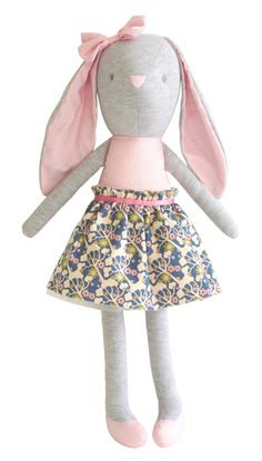 Alimrose Pearl Bunny Cuddle Toy Wildflower | Australia www.missnmaster.com