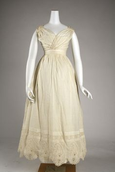 Dress Date: ca. 1820 Culture: American or European