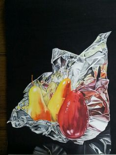 Red Pears watercolor