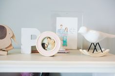 rocking bird from west elm + pics of mom and dad as babies