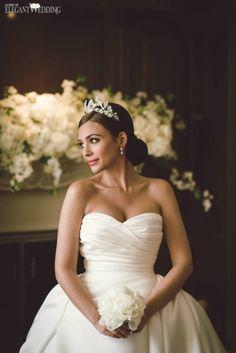 Princess Bride Tiara, Bridal Tiara, Princess Bridal Headpiece, Bridal Crown, Wedding Crown | Ivory & Co. | ElegantWedding.ca