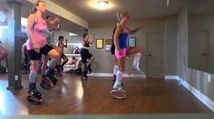 Kangoo With Becky..........this girl is awesome! What a great fun workout!!  :)