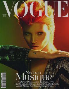 Kate Moss/Ziggy Stardust
