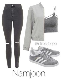Grey Outfit with Namjoon by infires-jhope