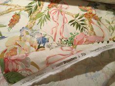 "6yd BRUNSCHWIG & FILS Munstead Heath"" Linen Cotton 24-Color Print Fabric FRANCE   eBay"