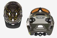Oakley's Mountain Bike MIPS Helmet Includes Stowage For Your Shades Mountain Bike Helmets, Motorcycle Helmets, Bicycle Helmet, Mountain Biking, Mtb Accessories, New Helmet, New Motorcycles, Commuter Bike, Bike Rider