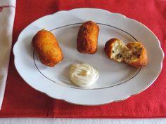 Cocinando con las Chachas: Croquetas de Mejillones en Escabeche