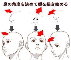 【イラスト豆知識】顔を描くコツ – ビジネスアニメ
