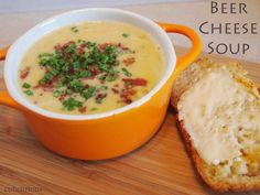 A last bit of decadence for 2012 - Beer Cheese Soup!