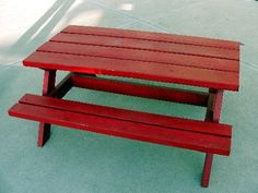 Bigger Kids Picnic Table | Do It Yourself Home Projects from Ana White