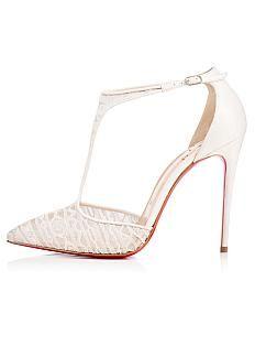 Maravillosas del cordón superior de punta cerrada tacones de aguja zapatos de novia