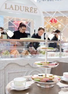 Enter for a chance to win a High Tea Party for four people at either Ladurée Melbourne or Sydney tearooms.